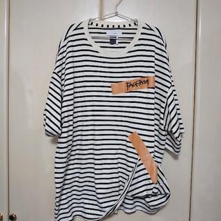 ファセッタズム(FACETASM)のFACETASM ファセッタズム TAPE BIG TEE(Tシャツ/カットソー(半袖/袖なし))