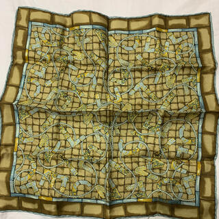 セリーヌ(celine)のポケットチーフ  セリーヌ 35×35  シルク100%(ハンカチ/ポケットチーフ)
