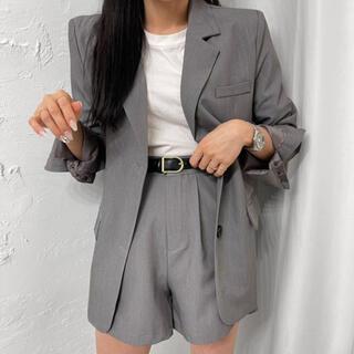 スタイルナンダ(STYLENANDA)の【予約商品】《2カラー》セットアップ JK パンツ デイリー 韓国ファッション(セット/コーデ)