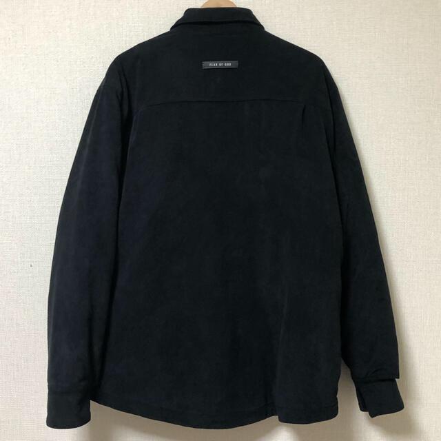 FEAR OF GOD(フィアオブゴッド)のFEAR OF GOD ULTRA SUEDE SHIRT JACKET S メンズのジャケット/アウター(ブルゾン)の商品写真
