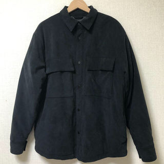 FEAR OF GOD ULTRA SUEDE SHIRT JACKET S