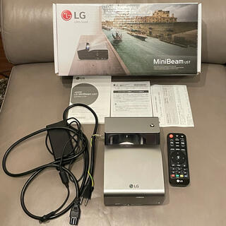 LG Electronics - 破格 付属品完備 LG PH450UG 超短焦点プロジェクター HDMIケーブル