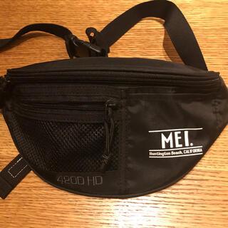 エムイーアイリテールストア(MEIretailstore)のMEI ウエストバッグ 黒 (ボディバッグ/ウエストポーチ)