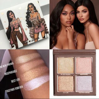 カイリーコスメティックス(Kylie Cosmetics)のカイリー コスメ ハイライター  パレット 4色(フェイスカラー)