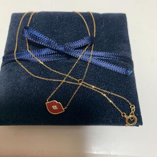 アーカー(AHKAH)のアーカー  ダイヤモンドキスネックレス  未使用 美品(ネックレス)