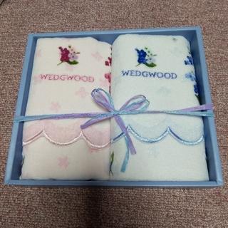 ウェッジウッド(WEDGWOOD)のwedgwoodフェイスタオルセット(タオル/バス用品)