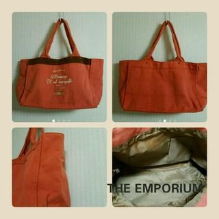 ジエンポリアム(THE EMPORIUM)の特別価格 送料無料 THE EMPORIUM トートバッグ オレンジ(トートバッグ)
