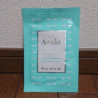 アウェイク(AWAKE)のアウェイク フェイスザフューチャー オイルシートマスク(パック/フェイスマスク)