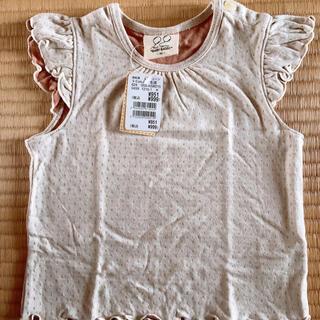 ニシマツヤ(西松屋)のカットソー Tシャツ  90 タンクトップ 新品(Tシャツ/カットソー)