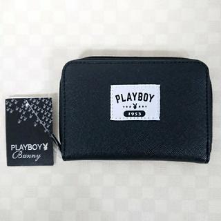 PLAYBOY - PLAYBOY プレイボーイ コインケース 小銭入れ カードケース 黒