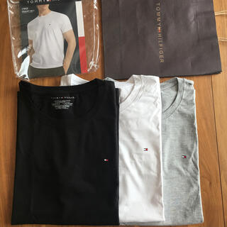 トミーヒルフィガー  TシャツTOMMY HILFIGER 半袖 3枚セット(Tシャツ/カットソー(半袖/袖なし))