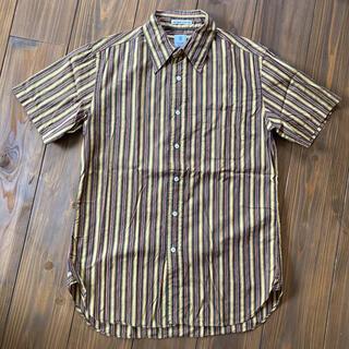 インディヴィジュアライズドシャツ(INDIVIDUALIZED SHIRTS)のGAMBERT CUSTOM SHIRTS   半袖 ストライプ(シャツ)