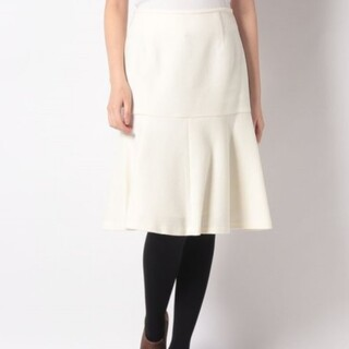 ANAYI - 柔らかなオフ白❤️ ウールスカート✨ ビーバースケータースカート 36 ブランド
