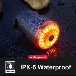 新品 テールライト LED ブレーキ感応  USB充電式自動点灯シートポスト取付(その他)