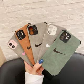 ナイキ(NIKE)のNIKE iPhoneケース 11 グレー(iPhoneケース)