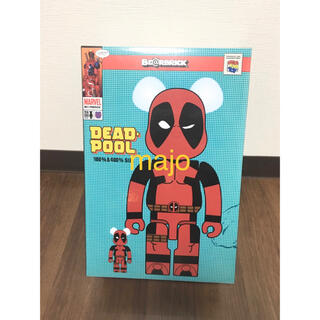 メディコムトイ(MEDICOM TOY)のBe@rbrick Deadpool 100% 400% デッドプール (その他)