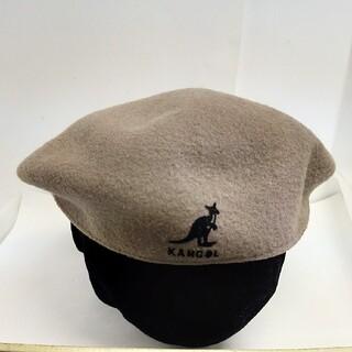 カンゴール(KANGOL)の送料無料!KANGOL/カンゴール/ハンチング帽/美品(ハンチング/ベレー帽)