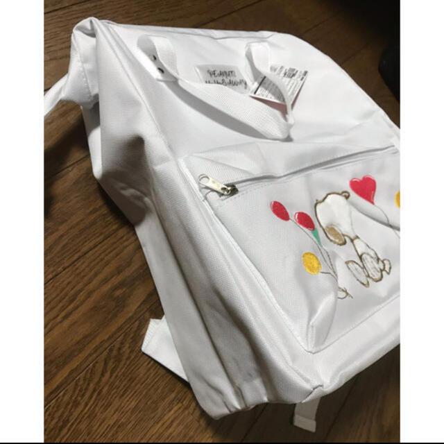 SNOOPY(スヌーピー)のスヌーピー  がま口リュック レディースのバッグ(リュック/バックパック)の商品写真