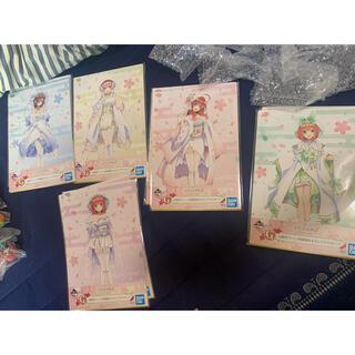 バンプレスト(BANPRESTO)の五等分の花嫁一番くじ  G賞イラストボードコンプセット(キャラクターグッズ)