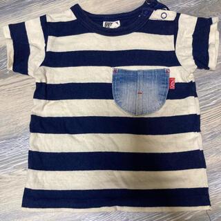 エフオーキッズ(F.O.KIDS)のベビー キッズ ボーダー Tシャツ 80(Tシャツ)