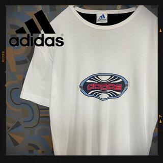 アディダス(adidas)のアディダス 90s 半袖Tシャツ 白 ホワイト レアデザイン パフォーマンス(Tシャツ/カットソー(半袖/袖なし))