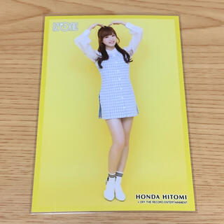 izone 本田仁美 生写真(K-POP/アジア)