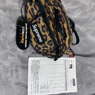 シュプリーム(Supreme)のSupreme ウエストバック waist bag 20FW レオパード(ボディーバッグ)
