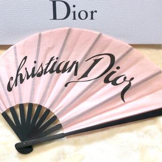 クリスチャンディオール(Christian Dior)のDior ディオール 扇子 新品 未開封(着物)