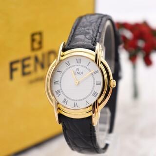 フェンディ(FENDI)の正規品【新品電池】FENDI 350J/ボーイズ 動作品 美品 人気モデル(腕時計(アナログ))
