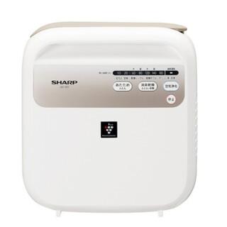 シャープ(SHARP)のSHARP UD-CF1-Wふとん乾燥機 プラズマクラスター7000 ホワイ(衣類乾燥機)
