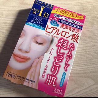 コーセーコスメポート(KOSE COSMEPORT)のクリアターン ホワイト マスク(ヒアルロン酸)  5回(パック/フェイスマスク)