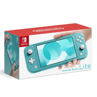 ニンテンドースイッチ(Nintendo Switch)のニンテンドースイッチライト本体 ターコイズ(携帯用ゲーム機本体)