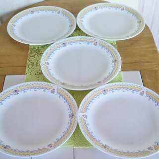 コレール(CORELLE)のコレール プレート 大皿 5枚(食器)
