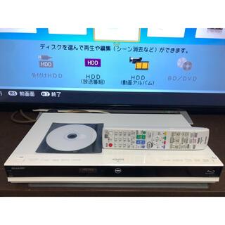 アクオス(AQUOS)のAQUOS BD-W570SW W録HDD1TB換装(ブルーレイレコーダー)