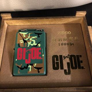 ジッポー(ZIPPO)のジッポ zippo GIジョー ライター オイル タバコ(タバコグッズ)