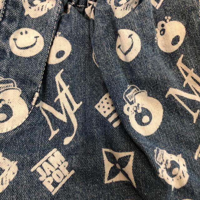 JAM(ジャム)の新品 jam デニムハーフパンツ  キッズ/ベビー/マタニティのキッズ服男の子用(90cm~)(パンツ/スパッツ)の商品写真