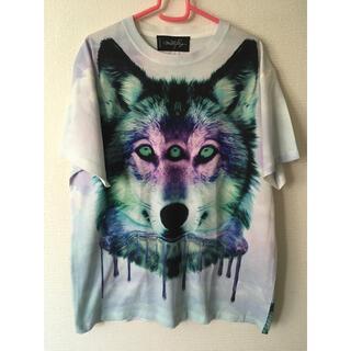 ミルクボーイ(MILKBOY)のmilkboy THREE EYED WOLF Tシャツ 狼 オオカミ(Tシャツ/カットソー(半袖/袖なし))