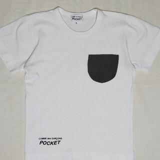 コムデギャルソン(COMME des GARCONS)のギャルソンポケット レディースS(Tシャツ(半袖/袖なし))
