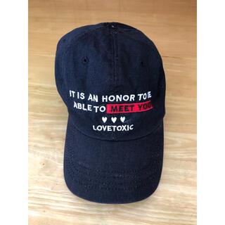 ラブトキシック(lovetoxic)のlovetoxic キャップ 帽子(帽子)