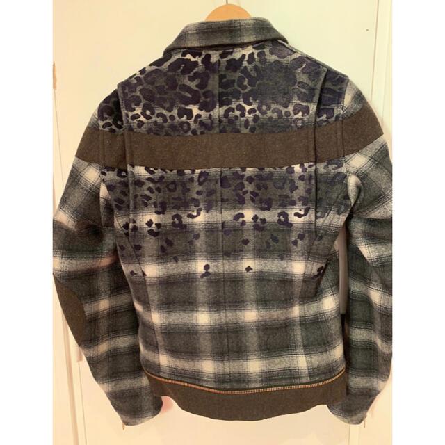 kolor(カラー)のkolor カラー 16aw スタジャン ブルゾン MA1 ジャケット アウター メンズのジャケット/アウター(ブルゾン)の商品写真