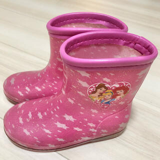 ディズニー(Disney)のプリンセス レインシューズ 15センチ 長靴 美品(長靴/レインシューズ)