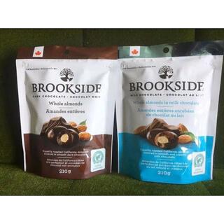 ブルックサイド ミルク&ダーク チョコレート ホールアーモンド 210g×2袋