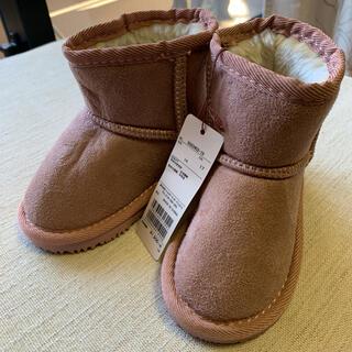 プティマイン(petit main)の新品未使用!!プティマイン  ムートンブーツ 靴(ブーツ)