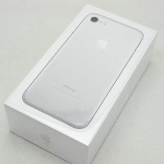 アイフォーン(iPhone)の【S】SIMフリー SoftBank iPhone7 32GB シルバー(スマートフォン本体)