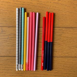 トンボエンピツ(トンボ鉛筆)の赤青鉛筆、黒鉛筆(鉛筆)