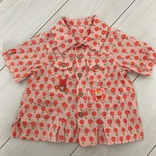 オイリリー(OILILY)の【OILILY】オイリリー 半袖シャツ 80サイズ(シャツ/カットソー)