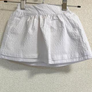 プティマイン(petit main)の新品未使用♡アースミュージックアンドエコロジー キッズ スカート♡95(スカート)