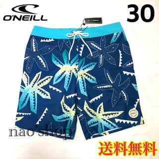オニール(O'NEILL)の【新品】オニール  メンズ ボードショーツ 柄 ブルー 30(水着)