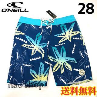 オニール(O'NEILL)の【新品】オニール  メンズ ボードショーツ 柄 ブルー 28(水着)