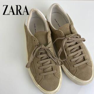 アルチュザラ(Altuzarra)の【 zara man 】 スニーカー 暖色カラー 秋 スケシュー スノボー(スニーカー)